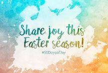 Ways to Celebrate the 50 Days of Easter Joy!