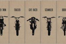 Old School Motorbikes