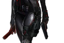 Sexy Female Action Agent