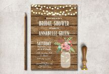 Kellie's Invitations / by Heather Honeycutt