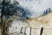 A WaterColor Inspiration / by Judith Webster