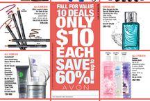 Avon Sales Flyers