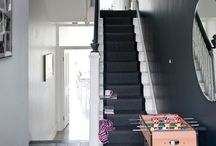 Stairs / Changing a boring staircase and hall into something more special