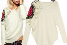 CLOTHES CROCHET KNITTED