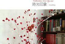 valentine tree / Valentine