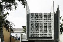 architectural screen block