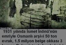 Osmanliya ihanet edenler