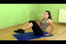 cvičení břicho