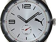 Puma Speed metal Silver Quartz Watch PU103111001