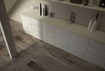 Kitchen Tile Inspiration / Tile design ideas for your kitchen wall and floor, with porcelain & ceramic tiles and bamboo flooring.