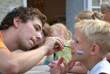 Schminken / Inspiratie voor het schminken van de kids.