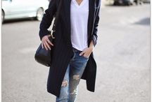 Long blazer outfits
