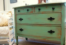 Painted Furniture-Grab your brushes and don't look back...fantastic ideas to get you started. / ...the possibilities are endless! / by gigis cottage