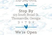 Thomasville, GA / We love to visit historic downtown Thomasville - lots to do, see and eat!