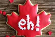 Canada Day Desserts and Cookies