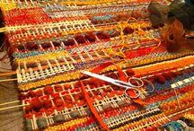 Tkanie, weaving, spinning, dyeing