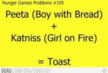 Hunger Games / Boy with bread + Girl on fire = Toast!
