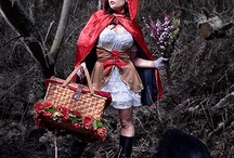 red riding hood shoot / by Donae Cotton