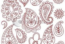 şal desenler