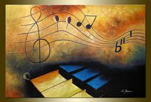 cuadro musica