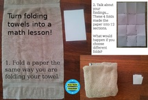 Hands-On Math activities / Activities that teach many concepts!