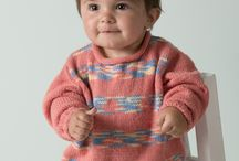 Stricken Babypullover