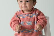 Stricken Babypullover