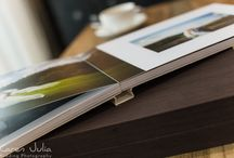 My Wedding Album Collection / I have a huge selection of wedding albums and book for my couples to choose from, as I really love creating personalised books and albums for my couples. :-)