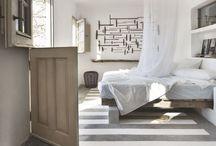 tapis pochoir peint