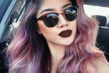 pastel hair inspired
