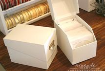 Craft Storage - Dies & Embossing Folders / Craft Storage Ideas (CSI) shares information, inspiration & products for crafting supply storage and organization. This board includes ideas for storing dies & embossing folders in your craft room or art studio, or when crafting on the go! Got great solutions for organizing and storing dies & embossing folders? Pin them & include #craftstorageideasblog and we might just show them off to our community of passionate crafters!