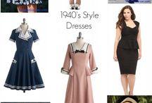 1940´s dresses