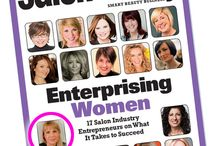 Salon Today / Owner of Nufree finipil has been named to Salon Today's list of Enterprising Women!