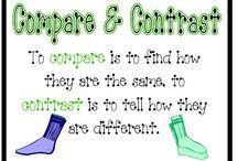 Compare and Contrast / by Priscilla Shiogi
