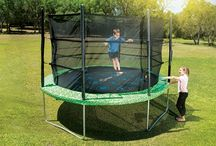 Trampoline Hero / Trampoline is a great choice for a parent who has super active kids and needs a trampoline that is made from high-quality long-lasting materials.
