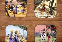 Rodney Matthews Coasters / Available at: www.rodneymatthewsstudios.com