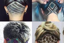 hair tattoo designs women