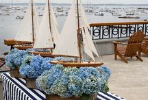Tablescape- Coastal/Beach / by A Floral Touch