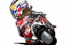 Dibujos Star Riders