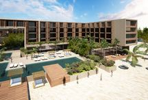 Grand Hyatt Playa del Carmen Resort / Ideally situated on a stretch of white sand beach & near the lively La Quinta Avenida, Grand Hyatt Playa del Carmen Resort offers a Bohemian flavor to Playa del Carmen. 314 apartment-style rooms & suites provide natural beauty & luxury living space. Experience the local flavors of Playa with two unique restaurants & three stylish bar lounge areas reflecting the vibe of la Quinta Avenida. Inspired by the natural freshwater pools of Playa del Carmen, the Spa offers a truly authentic experience.