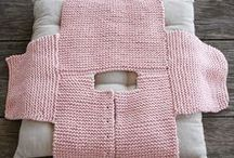 Knitted baby
