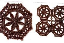 Crochet - motifs III - circular, oval and all other / motivy - kulaté, oválné a všechny ostatní