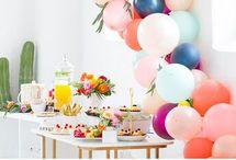 BIRTHDAY, GRADUATION & WEDDING IDEAS / Erilaisia hää-, syntymäpäivä ym. juhla-ideoita.