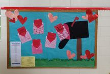February Bulletin Boards / by Veronica Shroyer