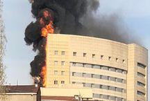 Μεγάλη φωτιά σε νοσοκομείο στην Κωνσταντινούπολη