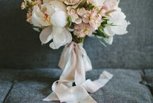 Wedding bouquet and arrangement