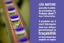 Les engagements de Léa / Depuis sa création en 1993, le développement de LÉA NATURE  s'est toujours accompagné de la volonté de concilier économie et éthique au sein d'une démarche environnementale et sociétale.