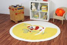 Sommer-Sonnen-Gelb / Gelbe Teppiche und gelbe Möbel bringen den Sonnenschein ins Haus