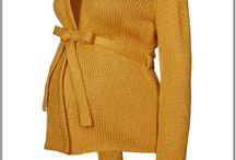Gilet et pull de grossesse femme ronde / Gilets et pulls de grossesse grande taille, coupe mode et confortable.