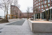 COURTYARD BUILDING - PROJECT / Co-Work Spaces Courtyard Building in Utrecht fase 01 + 02